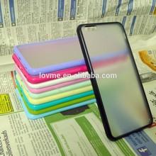 Matte Clear Hard Back Case Soft TPU Bumper Skin Cover For Apple iPhone 6 Plus