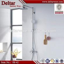 new design dual-function shower set, china supplier bathroom sink faucet set, bath rain shower set