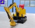 outdoor amusement park equipment, mini digger for children, kids machine