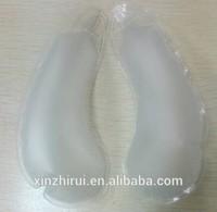 PVC transparent air inflation bra breast bags insert/pad inside into swimwear/bikili underwear