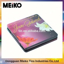 small plain metal packaging tin boxes