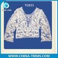 2015 moda blusa de renda tg833