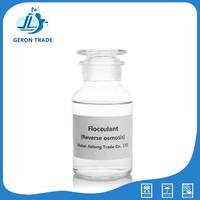 prevent macromolecular organic matter reverse osmosis polymers flocculant