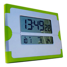 Colourful Digital table clock with LCD calendar