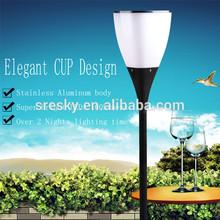 Led Plastic Garden Solar Light Outdoor Solar Lighting Decoration