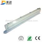 2x36w t8 emergency light waterproof light fixture ,fluorescent lighting ,wet room ip65