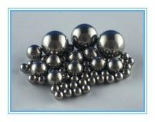 1/2 inch G1000 Gcr15 chrome steel balls for toys