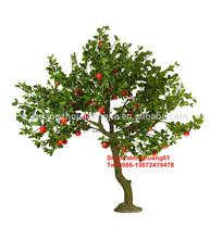 Sjh121425 faux arbres fruitiers bonsaï fruits arbre pas cher arbres artificiels