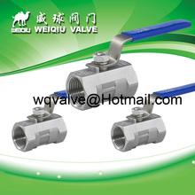 Stainless steel DN 6 NPS thread ball valve ANSI STL API Class 300 #