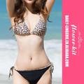 Nueva llegada de moda sexy traje de baño y populares bikini de leopardo para mujeres