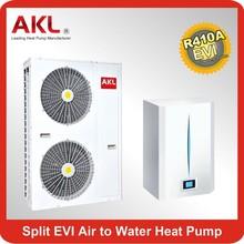 split heat water heat pump, floor heating Heaing Cooling hot water