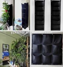 factory direct wholesale pockets vertical garden grow bags