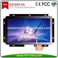 "Monitor de pantalla táctil de bajo coste 22"" p-cap táctil del marco abierto monitores para cajeros automáticos, vtm, kiosco, hmi, médico, juegos de azar"