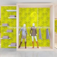 embossed Bamboo material 3d spring wallpaper
