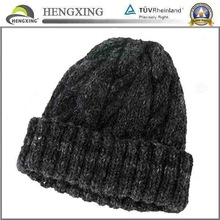 2014 high quality knitted hat/children knitted hat/embroidery knitted hat