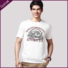 Fashion 100% Cotton Cheap Men's Custom Printing T-shirt