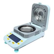 1 mg/5mg/10mg 50g/100g Quick Apparatus Halogen Heating LCD digital sawdust moisture meter