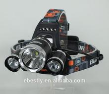 Hot High Power LED Headlamp / led headlamp for military / c ree headlamp 5000 Lumens headlight led headlamp flashlight