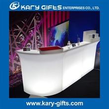 Mini portable glowing home bar counter