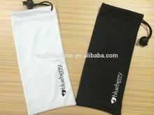 High quality Custom soft microfiber cellphone pouches cases