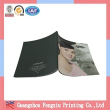 Guangzhou Embossed Full Color Printed Beauty Product Catalogue