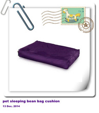 Alibaba customized pet sleeping bean bag removable cushion