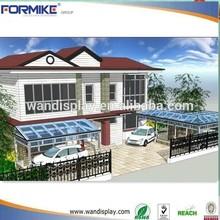 prefabricated villa outdoor sun room