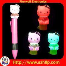 Shenzhen crown ball pen cheap custom pen wholesaler