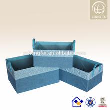 PP cube storage plastic storage bins with lids plastic laundry basket handle
