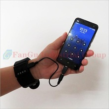 New arrival christmas wrist charger gaming system, Wristband battery charger for cell phone traveling