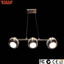Innovative silver led pendant lighting for diningroom