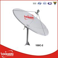 150cm C/Ku Band Satellite Dish Antenna