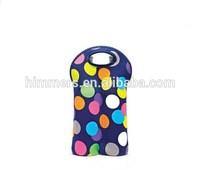 China Alibaba Fashion Practical Neoprene Wine Tote Bag/Insulated Cooler tote
