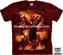 3d Knight t shirt cotton custom printing china wholesale