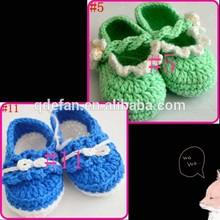 100% cotton baby shoes crochet cheap girls fashion boots