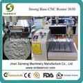 Sm3030 acrílico cnc mini tallador laser / mini cnc enrutador láser