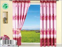 china made YH108 15 years top-rated golden seller newest 100% polyester printed finished curtain