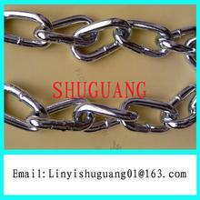 Q235 Electro Galvanized Decorative Metal Chain
