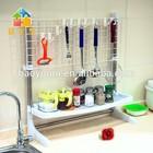 BYN 3 tier kitchen utensil rack corner spice rack plastic spice rack DQ-0936-2