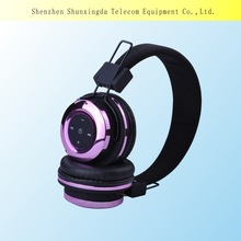 2015 SXD cheap wireless headphone bluetooth headphones with microphone for computer