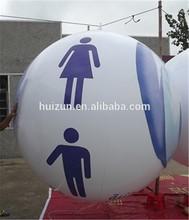 Huizun Inflatable Flying hot air balloon advertising/hot sale hot air balloon toy balloon/electric balloon air pump for balloon