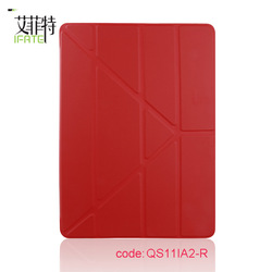 PU leather case for apple ipad air 2 leather case for ipad 6