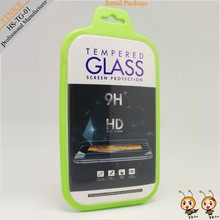 Tempered glass screen protector package with custom printing cardboard