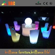 Club,bar,events furniture/waterproof led chair/led furniture led table led chairs