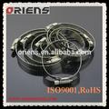 la fábrica de china de metal clips de sujetadores de acero inoxidable clips de metal cierres
