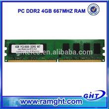 ETT chips 667D2N5/4G 8Bits memory module 4gb 667mhz ddr2 sdram