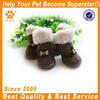 JML High qulity shoes PU leather boot pink/brown pet supply dog winter shoes