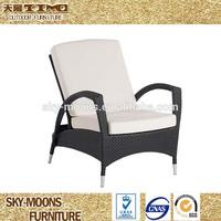 all weather weaving garden patio furniture outdoor rattan sun lounger(L032)