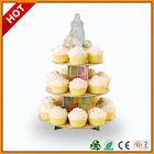 flower cardboard cupcake stand ,floor displays for cake ,floor display for chocolate cupcake