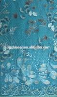 Fashion eco-friendly cotton nylon lace fabric